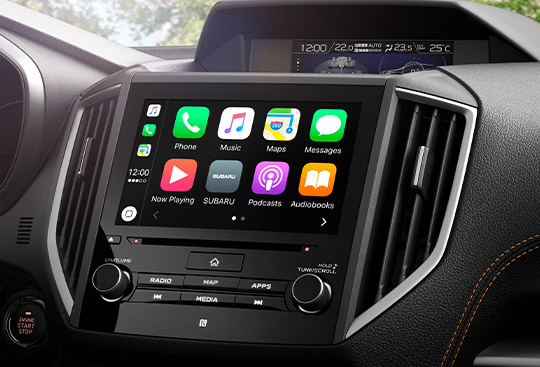 Apple CarPlay<sup>*2</sup> y Android Auto<sup>*3</sup>